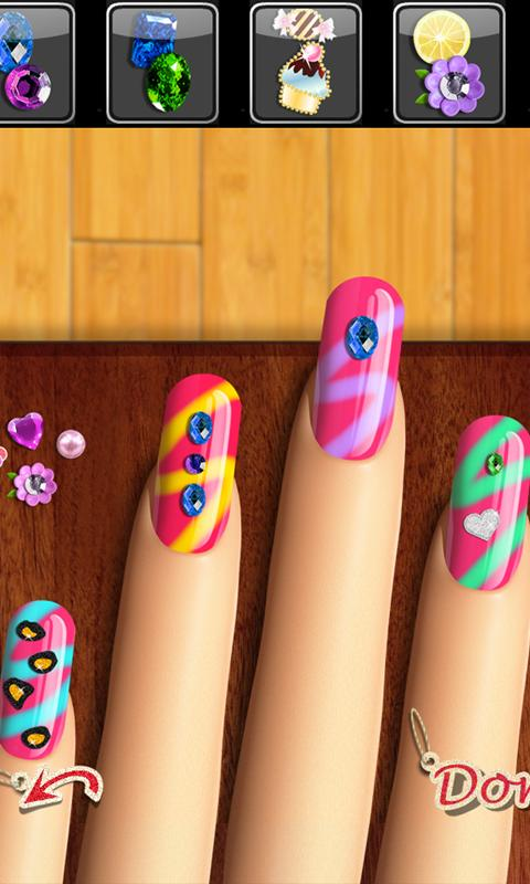 Glow Nails: Manicure Games